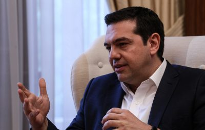 Meeting between the Greek Prime Minister Alexis Tsipras and the Prime Minister of Portugal Antonio Costa, in Athens, on April 11, 2016 / Συνάντηση του Πρωθυπουργού Αλέξη Τσίπρα με τον Πρωθυπουργό της Πορτογαλίας Αντόνιο Κόστα, στην Αθήνα, στις 11 Απριλίου, 2016