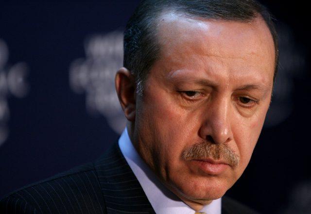 Ο Ερντογάν στεναχωρημένος