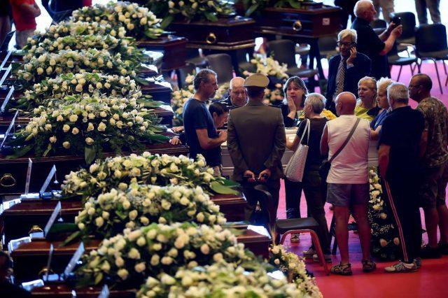 Οι κηδείες των θυμάτων της Γένοβας