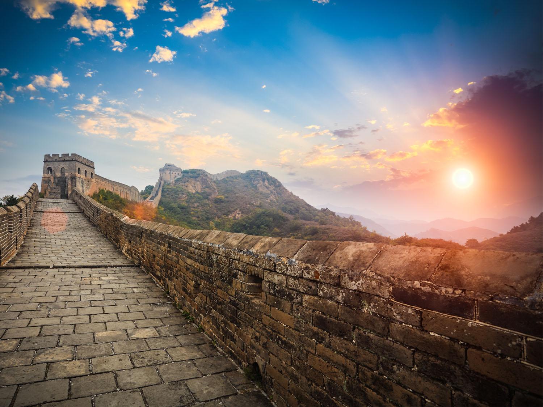 Sunrise-at-Great-Wall