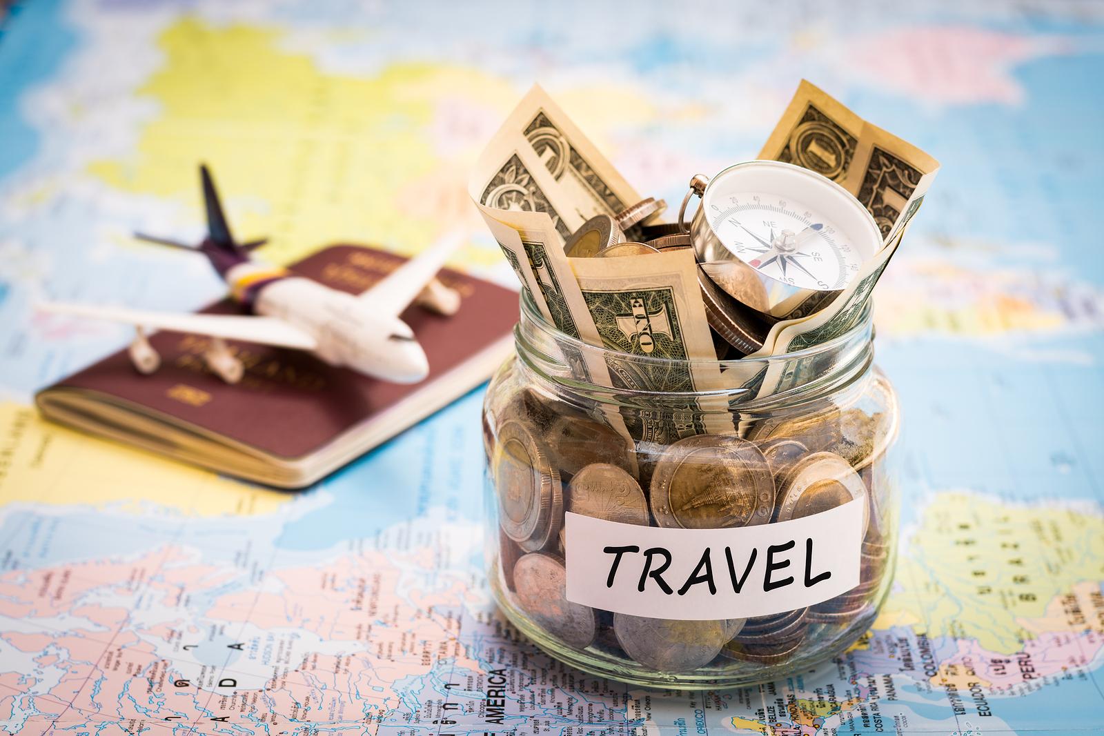 Βάζο με χρήματα για ταξίδια