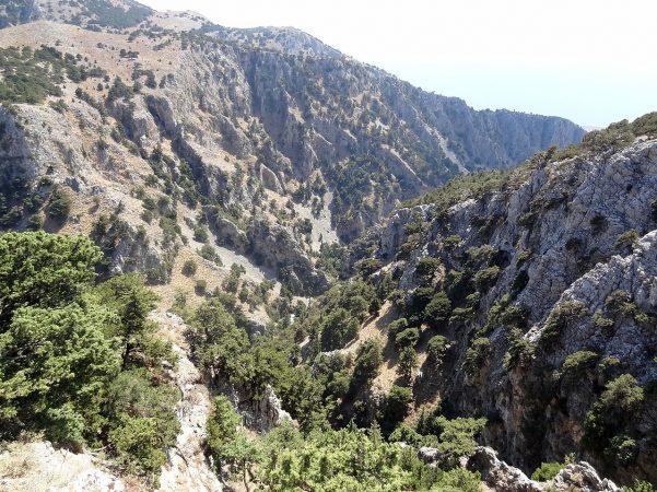 Το Φαράγγι Ίμβρος στην Κρήτη