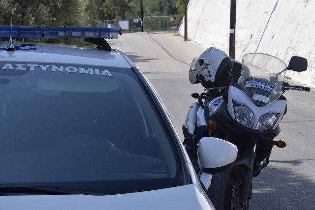 Αστυνομία μηχανή περιπολικό ΔΙΑΣ