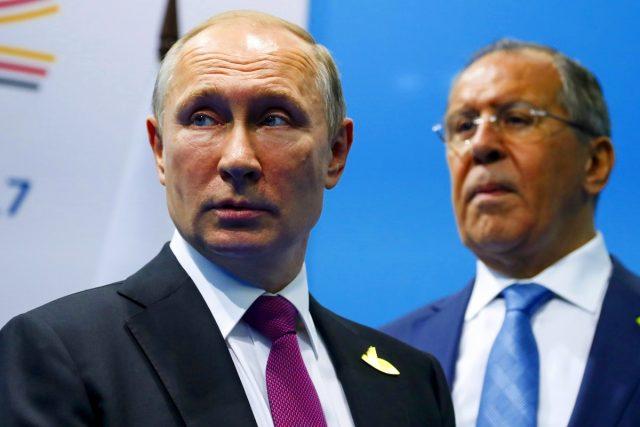 Sergey Lavrov, Vladimir Putin