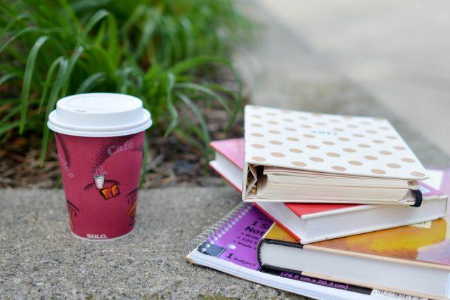 βιβλία καφές