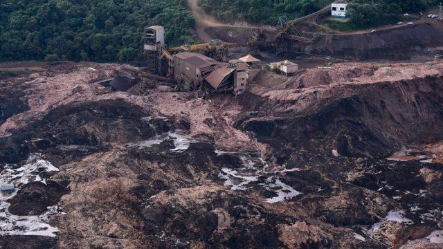 Βραζιλία κατάρρευση φράγματος