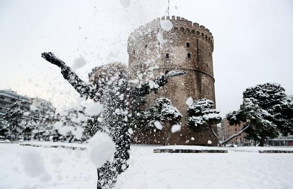 Θεσσαλονίκη χιόνια