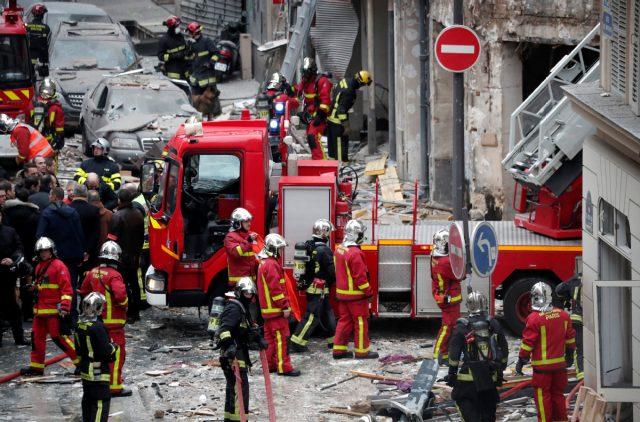 Παρίσι έκρηξη