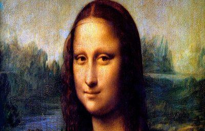 The Mona Lisa painting