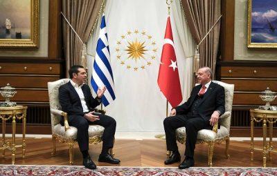 Νέα Δημοκρατία Σοβαρές ανησυχίες εγείρει η επίσκεψη Τσίπρα στην Τουρκία