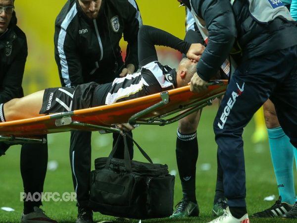 Πέλκας τραυματισμός: Αμφίβολος για το ματς με τον Παναθηναϊκό