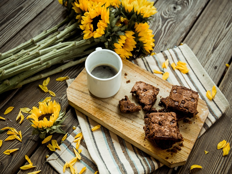 Brownies ένοχη ώρα απόλαυση