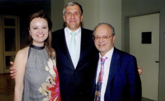 Η συγκινητική ανακοίνωση της κόρης του Θανάση Γιαννακόπουλου