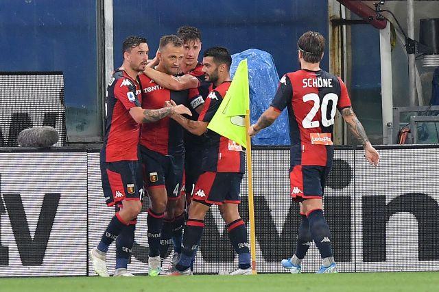 genoa didn't make it against Juve