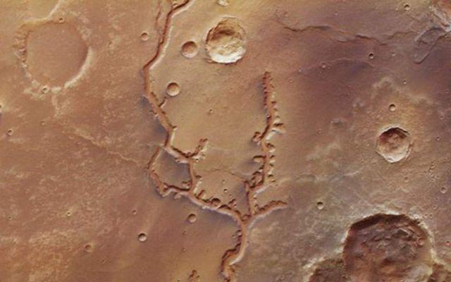 Πλανήτης Άρης νερό
