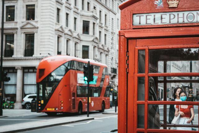 τηλεφωνικός θάλαμος Λονδίνο