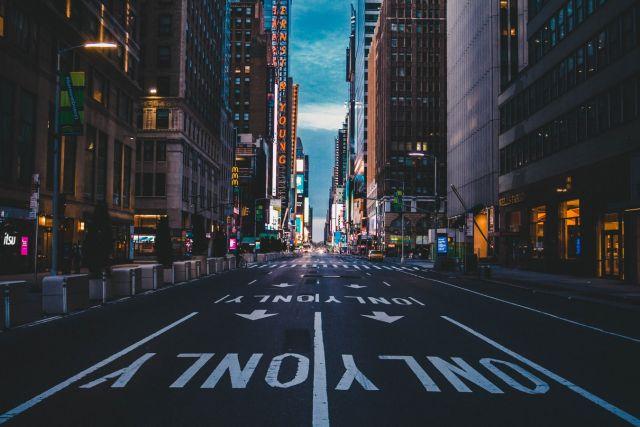 άδειοι δρόμοι ΗΠΑ