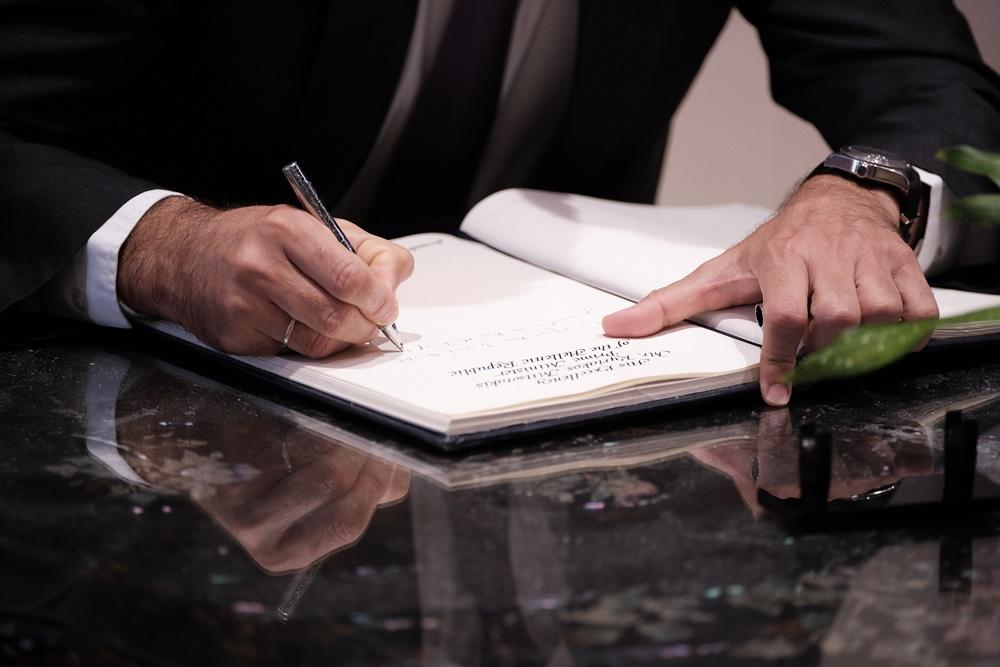 Κυριάκος Μητσοτάκης υπογραφή