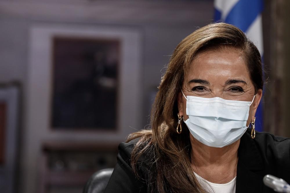 Ντόρα Μπακογιάννη μάσκα