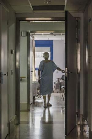 ασθενής μεγάλης ηλικίας σε νοσοκομείο