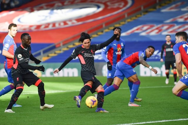 crystal palace plays host to Arsenal