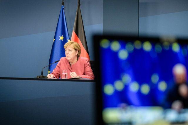 η καγκελάριος Γερμανίας, Άνγκελα Μέρκελ