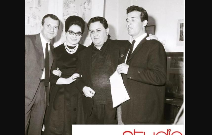 Μούσχουρη, Χατζιδάκις, Παπαμιχαήλ, Μούτσιος το 1961