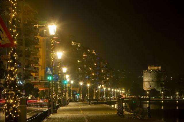 στολισμένη Θεσσαλονίκη