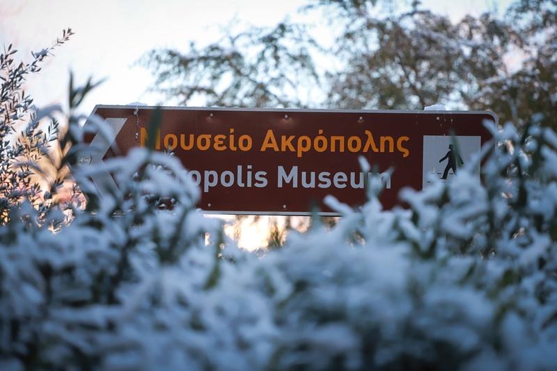 Χιόνι στην Αττική