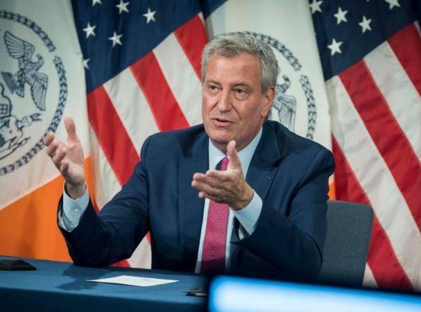 Μπιλ ντε Μπλάσιο, δήμαρχος Νέας Υόρκης