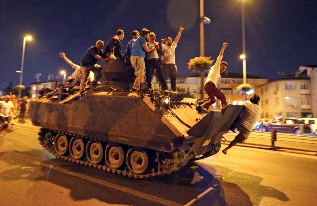 Τουρκία πραξικόπημα 2016
