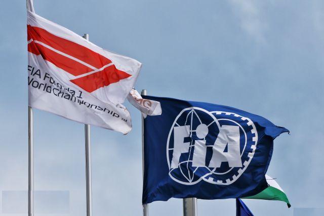 Οι σημαίες της F1 και της FIA