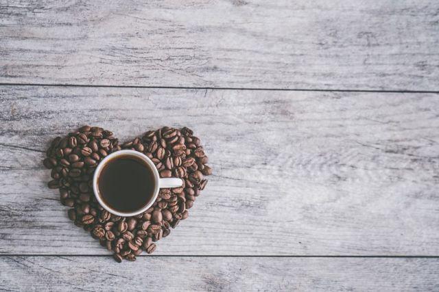 καφες καρδια