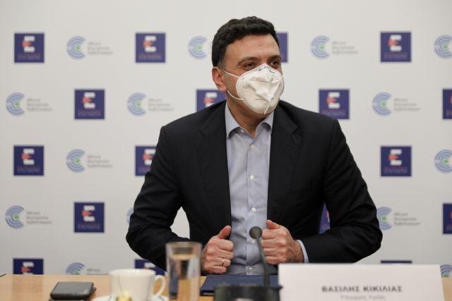 Βασίλης Κικίλιας με μάσκα