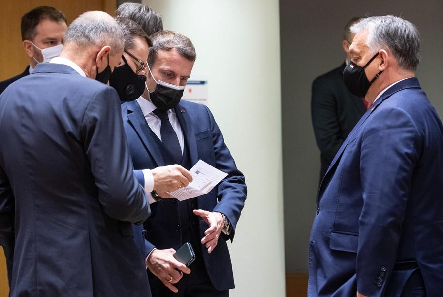 Εμανουέλ Μακρόν Σύνοδος Κορυφής
