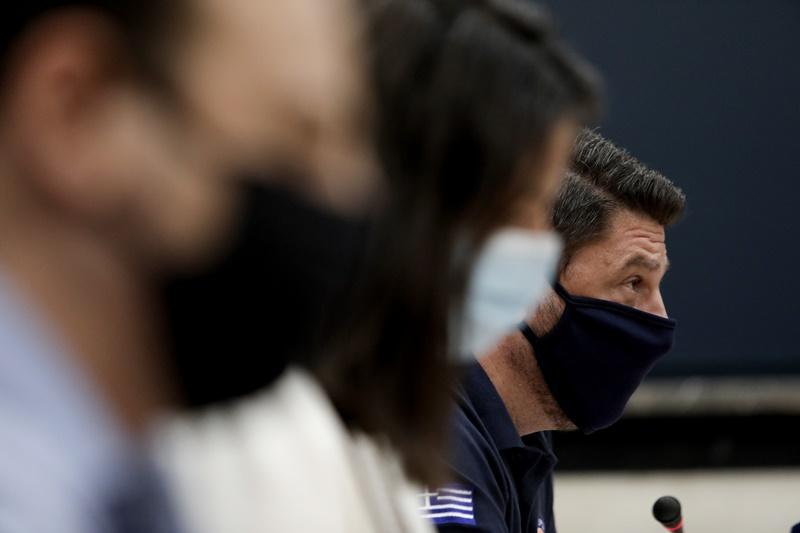 Νίκος Χαρδαλιάς μάσκα ενημέρωση