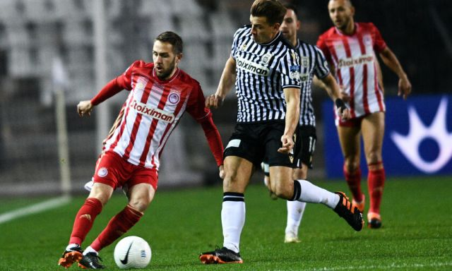 olympiacos is still unbeaten 1-1 against paok