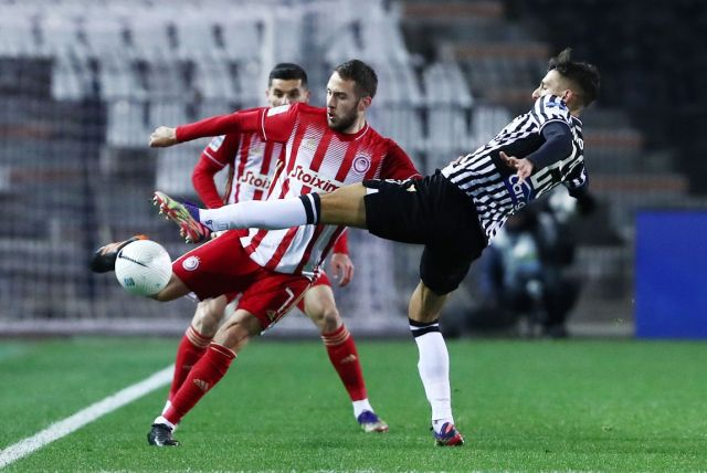 draw 1-1 the result of the greek derby paok olympiacos