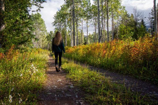 Πράσινο, περπάτημα