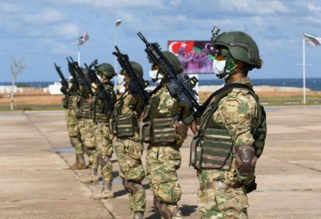 Τούρκοι στρατιώτες στη Λιβύη