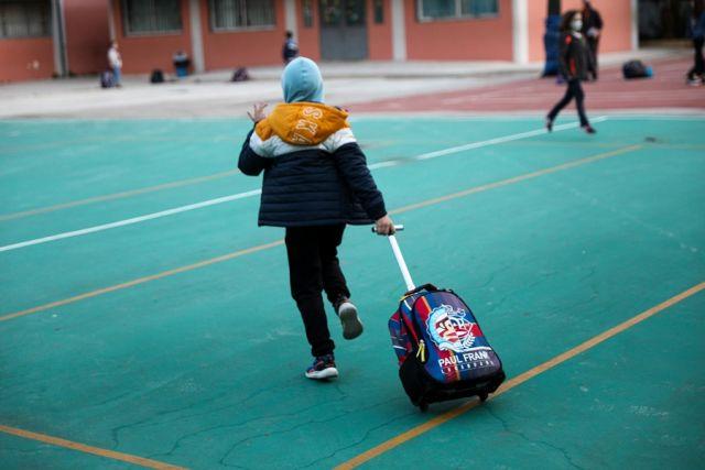 Μαθητής στο σχολείο