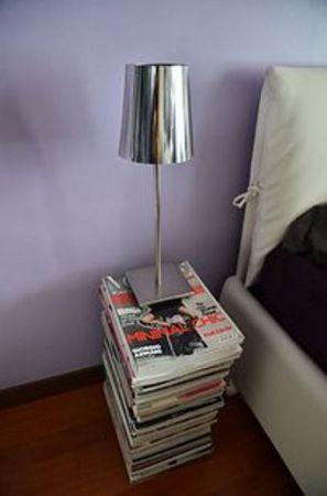 Τραπέζι εφημερίδες