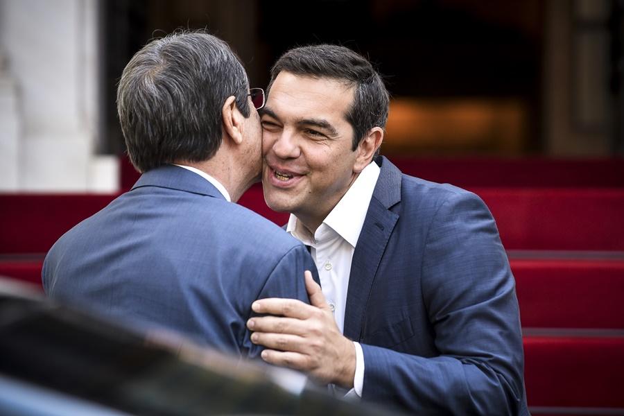 Αλέξης Τσίπρας Νίκος Αναστασιάδης