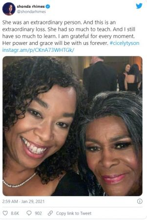 cicely tyson θανατος