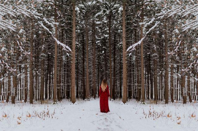 Γυναίκα δάσος