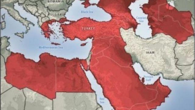 Χάρτης της Τουρκίας - Stratfor