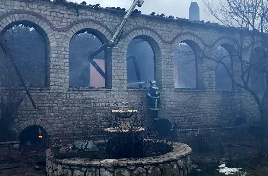 Varnakova monastery in Phokida 1