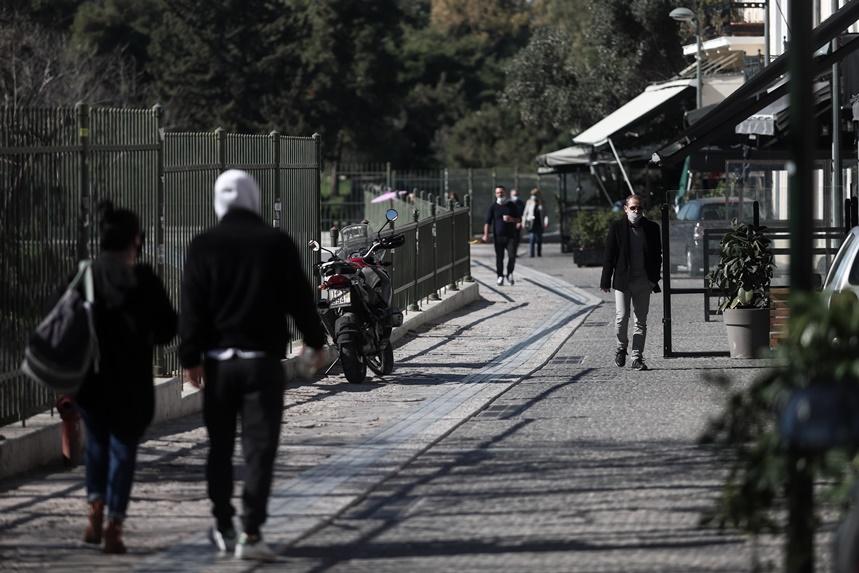 Πεζοί στην Αθήνα