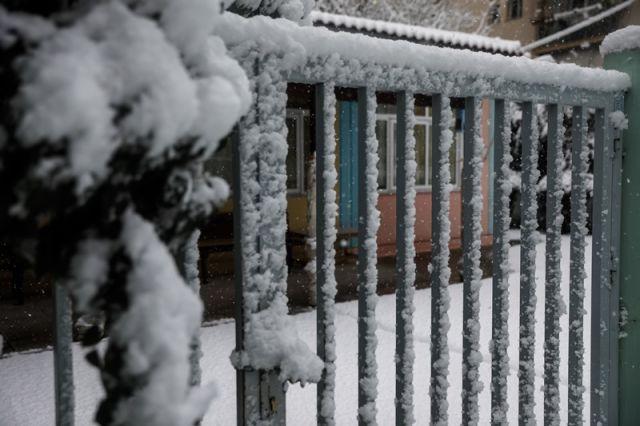φτυαρισμα χιονιου
