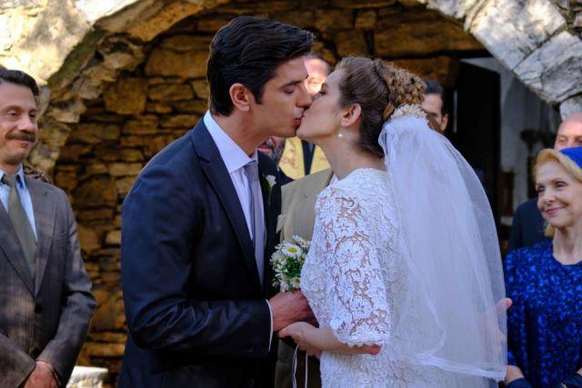 Άγριες Μέλισσες γάμος Λάμπρος Ελένη